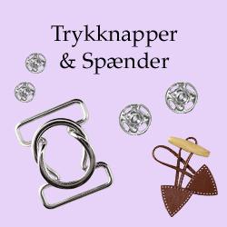 Trykknapper & Spænder